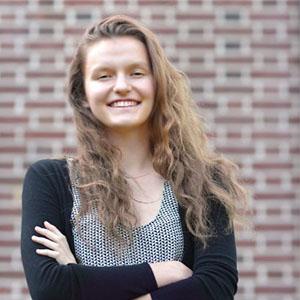 headshot of Celine Shanoskyn, JHU student