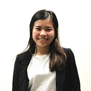 headshot of Della Xu, JHU student