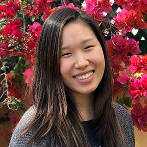 headshot of Michelle Guo, JHU student