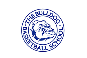 Bulldog Basketball School Logo.