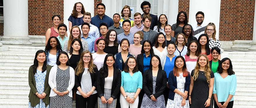 picture of JHU community impact internships 2018 cohort