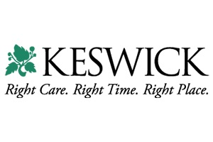KEswick multi-care center logo. go to https://choosekeswick.org to learn more.