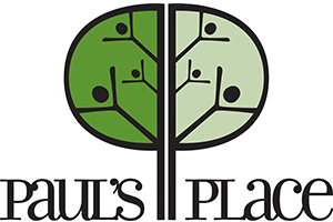 Paul's Place Logo. Go to https//paulsplaceoutreach.org/ for more information.