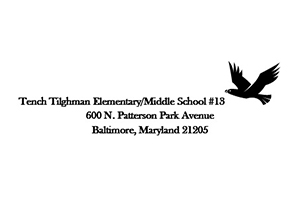 Tench Tilghman Elementary/Middle school logo. go to www.baltimorecityschools.org/Domain/394 to learn more about this school.