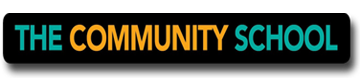 The Community School Logo. Go to tchighschool.org to learn more.