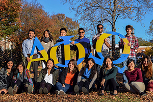 group photo of Alpha Phi Omega