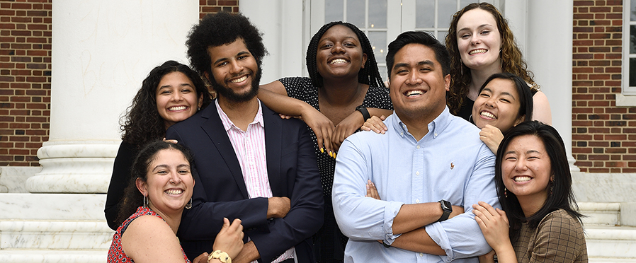 photo of 2019 community impact internships program 8 peer mentors