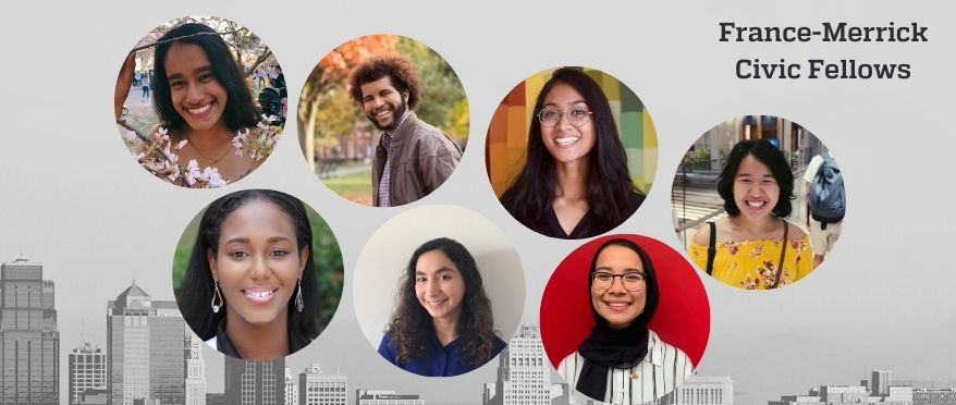 picture of 6 JHU fellows 2020-2021
