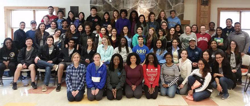 MAPP students at a leadership retreat