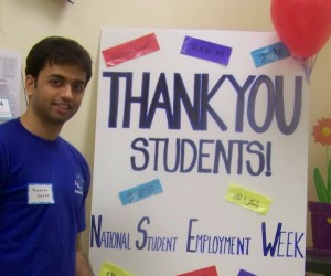 NSEW Thank you to students