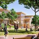 Rendering of Hopkins Student Center
