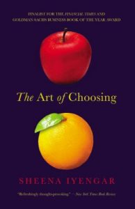 "Book cover ""The Art of Choosing""."