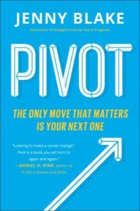 "Book cover of ""Pivot""."