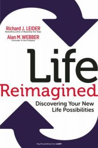 """Book jacket of """"Life Reimagined""""."""